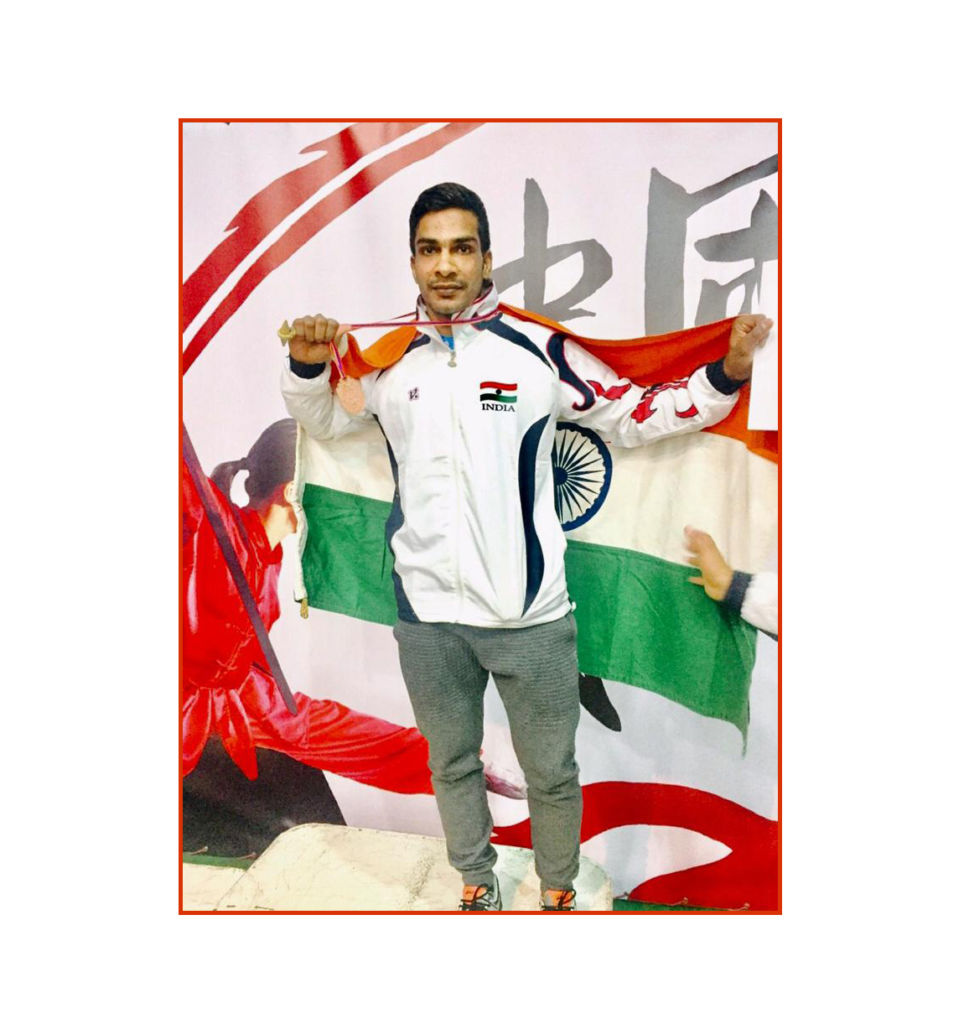 Young Wushu Athlete, Pawan Gupta from Delhi is an inspiration for young sportspeople in India