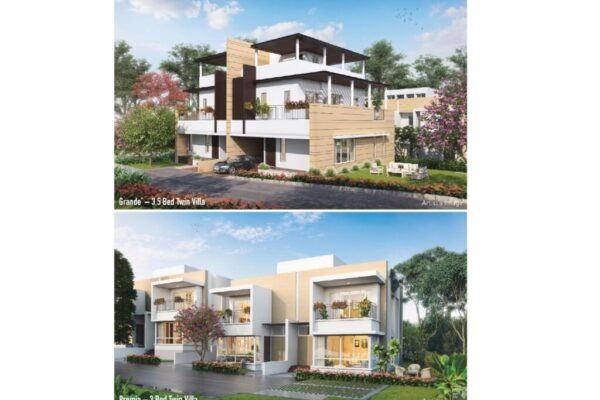 Another absolute beauty by K Raheja Corp Homes – Twin Villas in West Pune