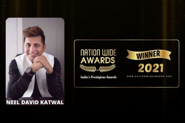 Neel David wins Inspiring Hairstylist of the Year-2021 Award from Business Mint